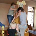 Zusammen klettern