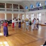Bewegungsübung, Musikschule Weimar